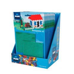 Plus Plus Construcciones Pack 2 Bases de Trabajo