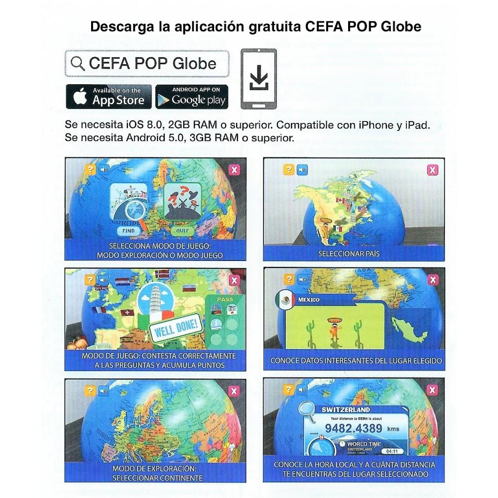 Realidad Toys Globo Con Inteligente Cefa Aumentada lJ3F1TKc