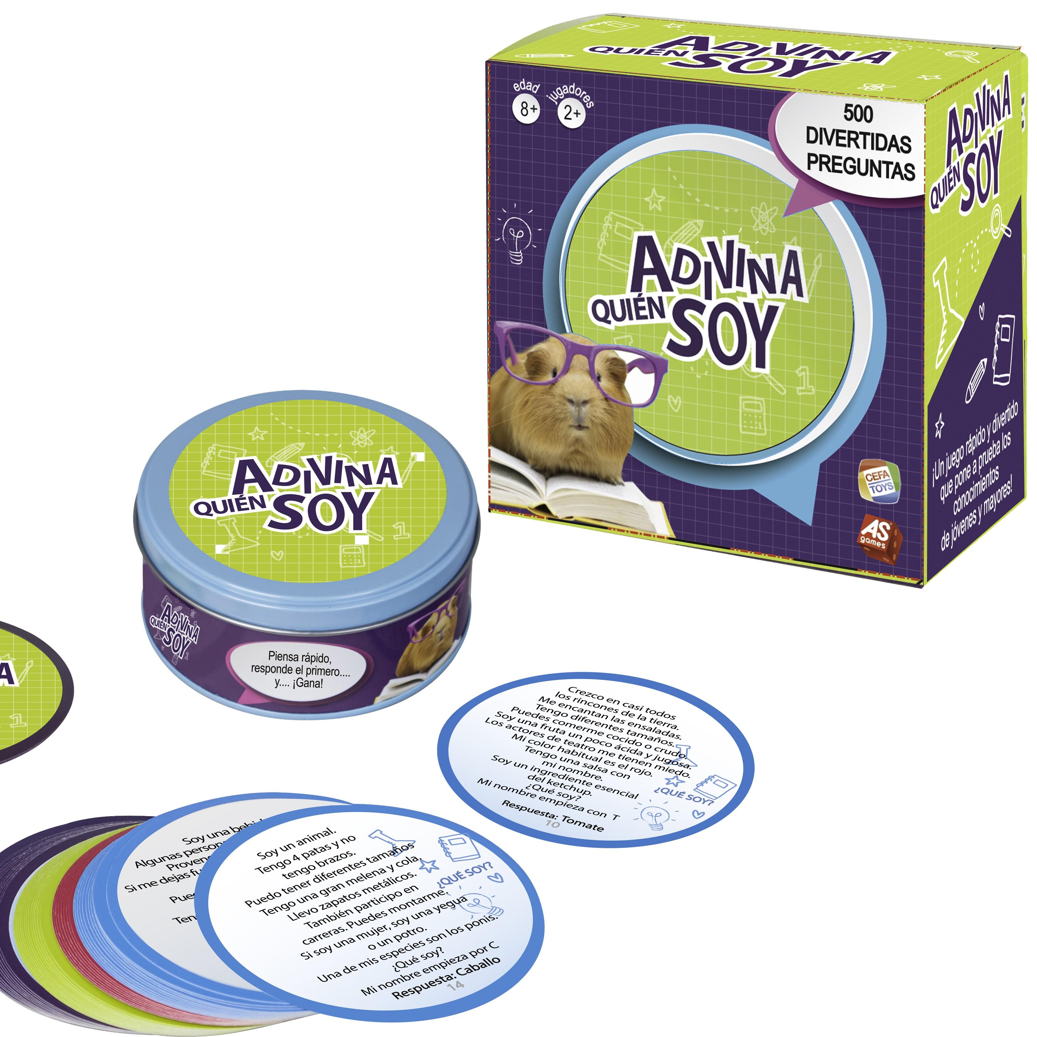 Juego De Mesa Adivina Quién Soy Cefa Toys