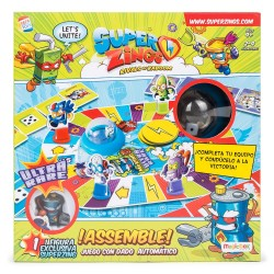 Juego de Mesa Superzings Assemble Mr King