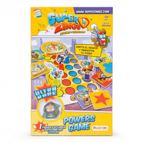 Juego de Mesa  SuperZings Kid Kazoom Powers Game