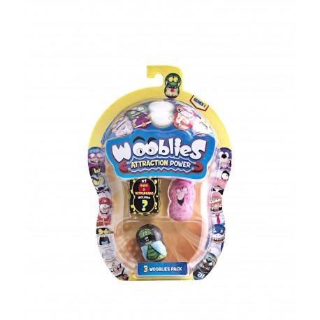 Wooblies Serie 1 , Pack 3 Figuras