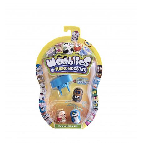 Wooblies Serie1 ,Turbo Lanzador con 3 Figuras