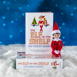 Elf on the shelf Cuento y Muñeco Elfo Niña