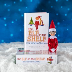 Elf on the shelf Cuento y Muñeco Elfo Niño