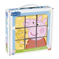 Rompecabezas 9 Cubos Peppa Pig