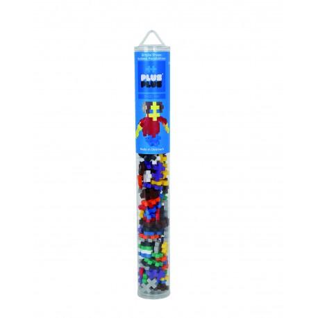 Tubo de Construcciones Plus PLus 100 piezas niño
