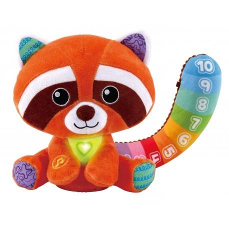 Panda Rojo Colores y Números