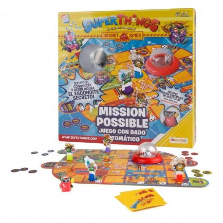 SUPERZINGS JUEGO MISSION IMPOSBLE