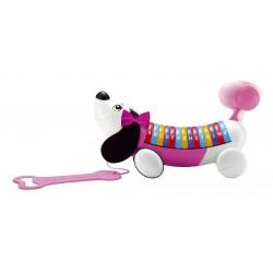 Perrito ABC rosa