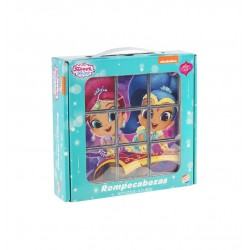 Rompecabezas Shimmer and Shine 9 Cubos